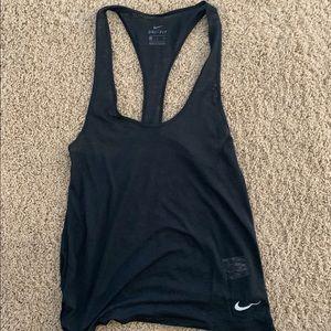 Lightweight Nike athletic dri fit tank